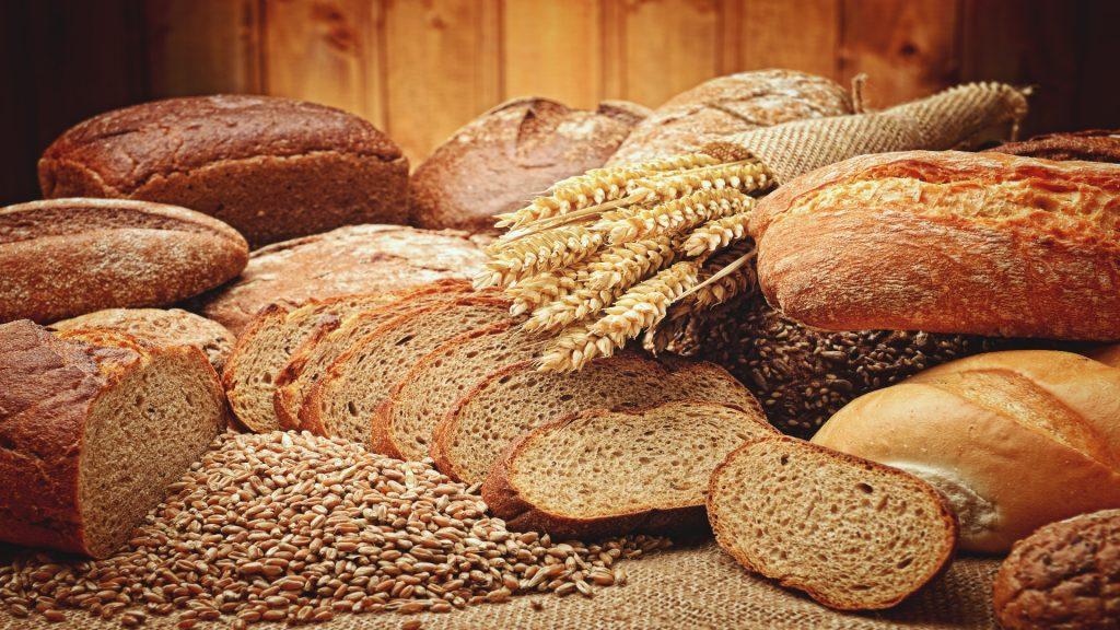 los diferentes tipos de pan. 1920