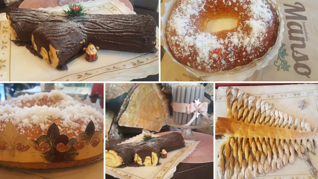 El Roscón de Reyes y el Tronco de Navidad 1920